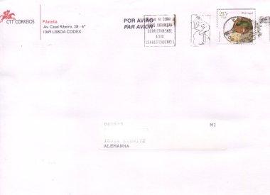 Einheimische Vögel (seit 2000), Michel Nr. 2392 auf Brief