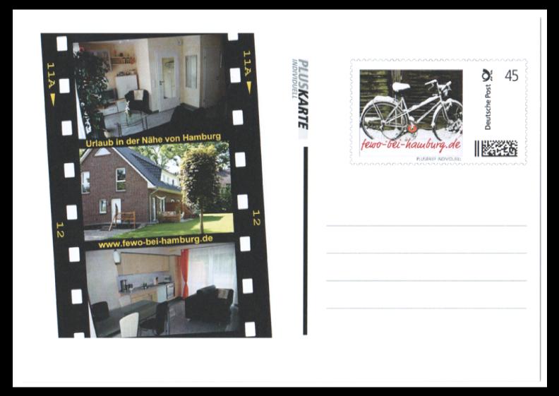 Abbildung 4: Pluskarte mit individueller Gestaltung der Marke und dem linken Bereich