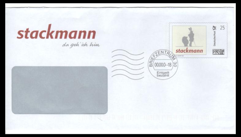 Abbildung 3: Plusbrief Individuell der Fa. Stackmann, Buxtehude, 2007