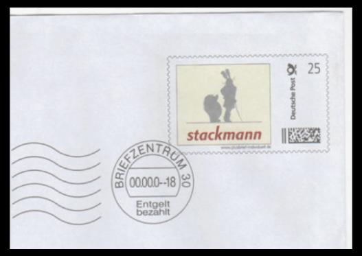 Abbildung 5: Plusbrief Individuell der Fa. Stackmann, Buxtehude, 2009