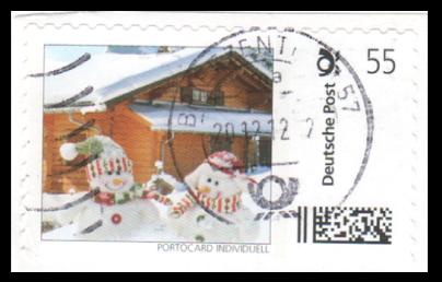 Abbildung 33: Marke aus Telekom Portocard Weihnachtsmarke, 2012