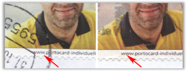 Abbildung 44: Portocard der DPAG, Briefträger