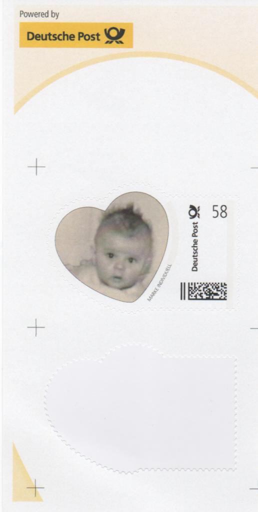 Abbildung 73c: Herzförmige Babymarke der Fa. Nestlé, 2013