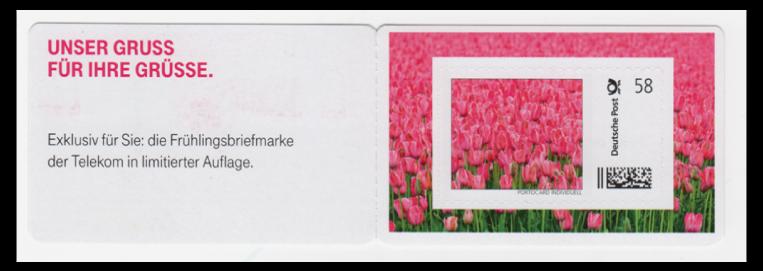 Abbildung 84: Portocard der Deutschen Telekom, 2013