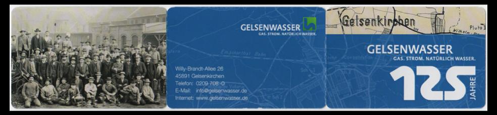 Abbildung 93: Aussenansicht, 125 Jahre Gelsenwasser